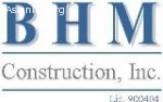 BHM Construction, Inc.