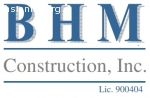 BHM Construction, Inc.